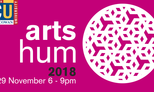 ArtsHum 2018 – ECU `s School of Arts and Humanities graduate exhibition