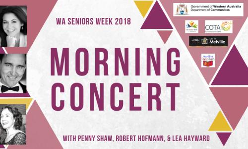 WA Seniors Week Morning Concert