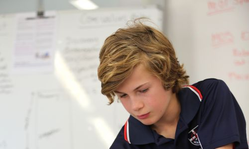 St Stephen's School student Braden Gostlow is preparing for the 2018 First Lego League Challenge.