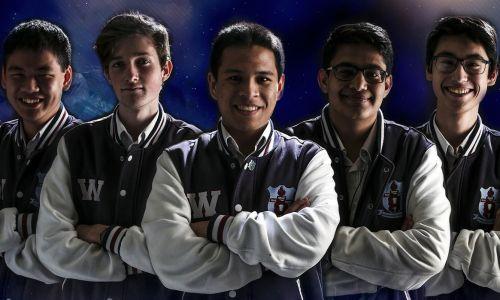 Willetton Senior High School's eSport team who represented Australia in the High School League of Legends AU & NZ Championship.