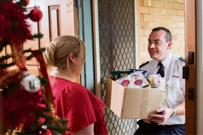 Reiwa backs Salvation Army Christmas appeal