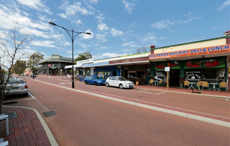 Old Perth Road in Bassendean. Picture: David Baylis