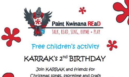 Paint Kwinana REaD Storytime.