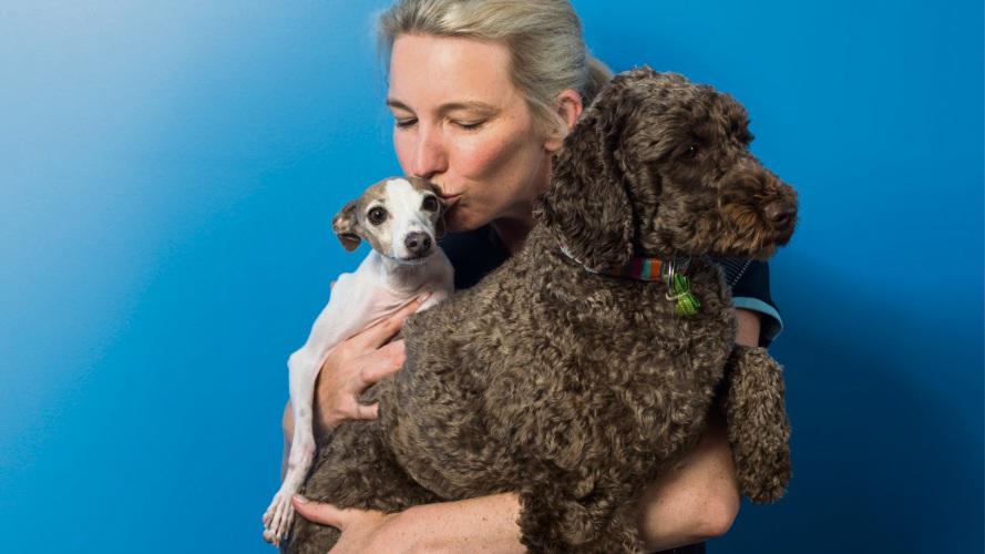 Dr Kate Lindsey of Kalmpets Animal Behaviour Centre.