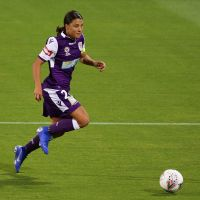 Perth Glory's Sam Kerr during the round 4 W-League match between Perth Glory and Melbourne City. Picture: Will Russell/Getty Images