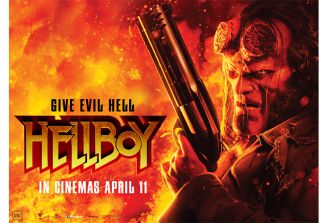 Win tickets to Hellboy