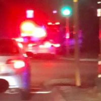 Police pursuit took in the intersection of Stock and Winterfold roads in O'Connor. Picture: Freo Massive Facebook group
