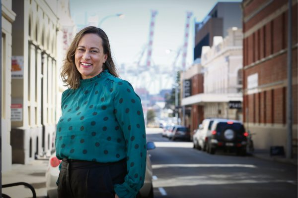 Danicia Quinlan is the new Fremantle Chamber of Commerce CEO. Photo: Andrew Ritchie. d491776 communitypix.com.au.