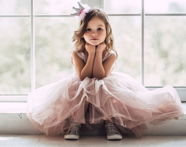 Why not let your little girls be feminine. Picture: iStock