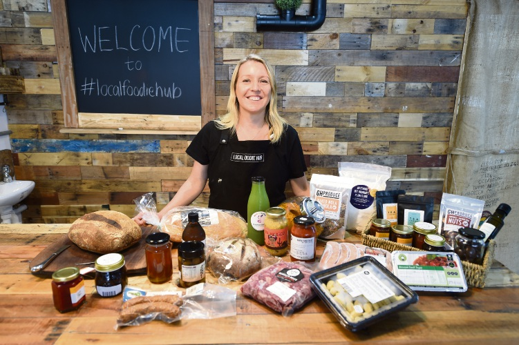 Owner Katie Bailey in Melville's new wholefoods shop. Picture: Jon Hewson