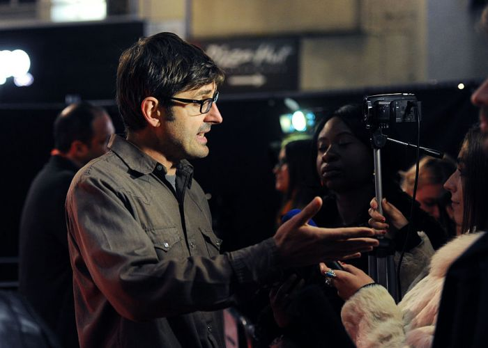 Louis Theroux will return to Australia in January. Picture: Stuart C. Wilson/Getty Images for BFI