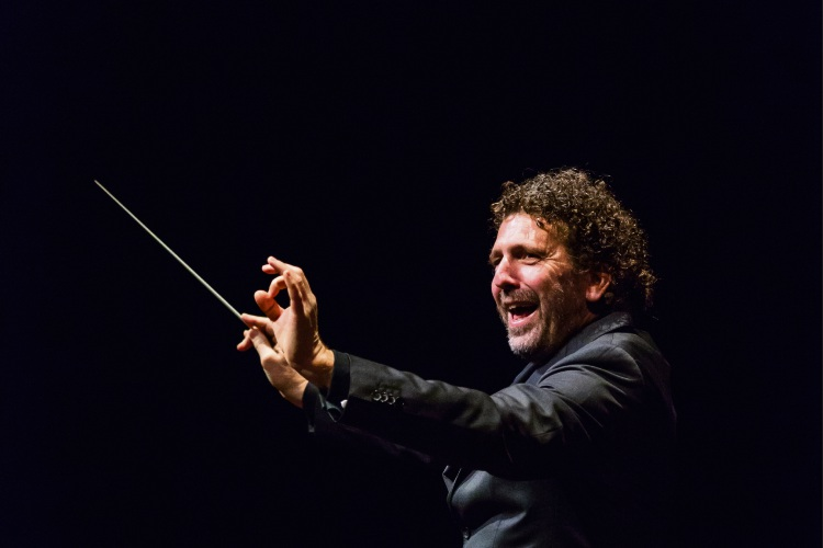 WASO principal conductor Asher Fisch.
