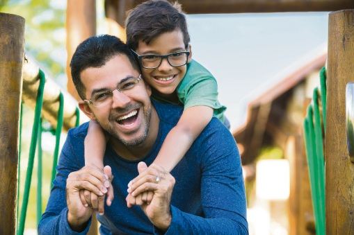 Dads mean the world to their kids. Picture: Getty