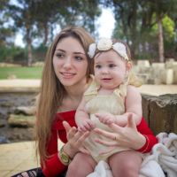 The Nest program supports young parents like Katherine, pictured with baby Hettie. Picture: Mayola B Eestrada Photography