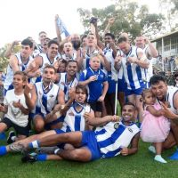 Kelmscott Bulldogs Football Club won the Metro Football League division one premiership. Picture: Facebook