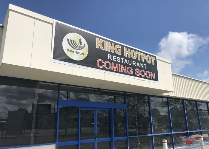 King Hotpot is opening its second restaurant at the old Morley Blockbuster site. Picture: Kristie Lim