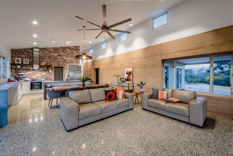 Inside the Waggrakine residence named Best Country Home at the 2019 Master Builders-Bankwest Building Excellence Awards for the Mid West.