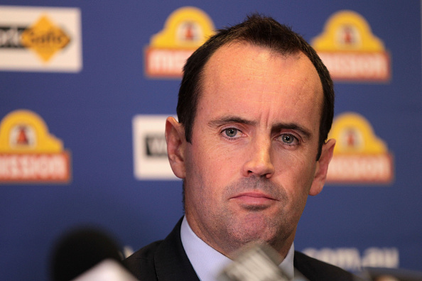 Simon Garlick is the new CEO for the Fremantle Dockers. Picture: Robert Prezioso/Getty Images