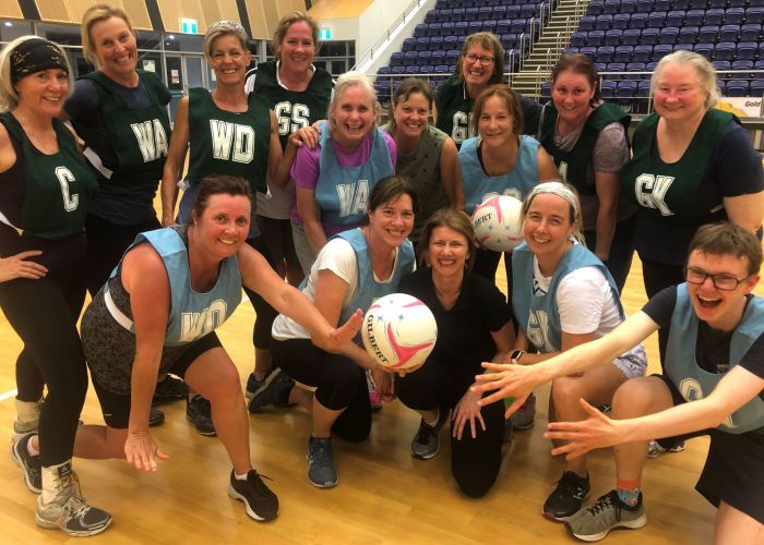 WA's first walking netball carnival will take place this weekend. Picture: Welcome Back Netball