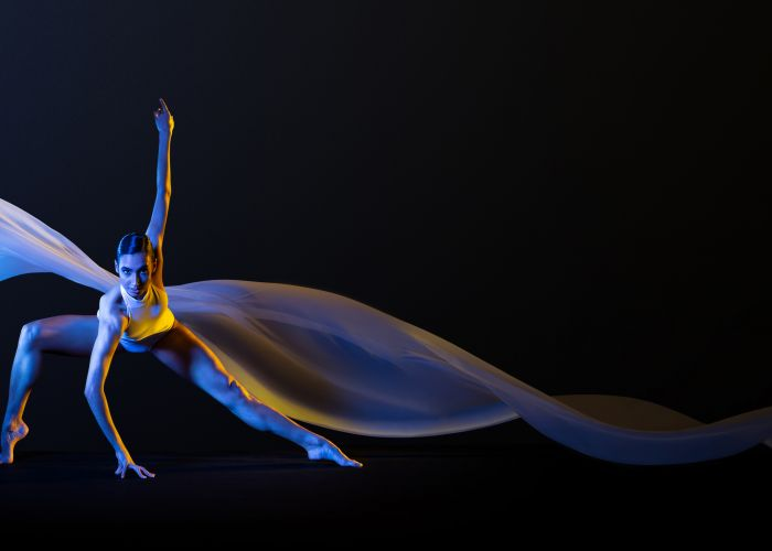 WA Ballet's STATE featuring Polly Hilton. Photo by Frances Andrijich