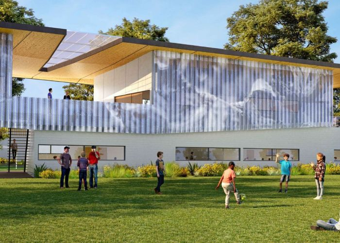 An artist's impression of the Emmanuel Christian Community School expansion.