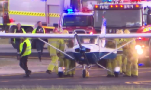Max Sylvester landed this plane after the instructor became incapacitated.