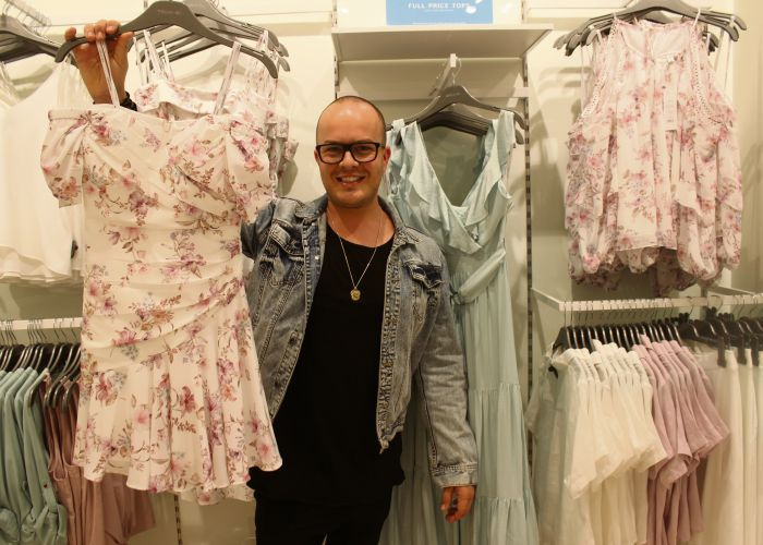 Mandurah Forum stylist Ben Conroy said floral dresses are huge this Spring. Dresses from Forever New.