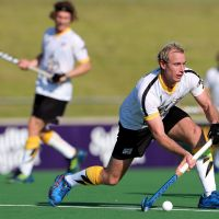 Perth Thundersticks and co-Australian captain Aran Zalewski in action. Picture: AAP