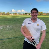 Bicton Attadale Cricket Club batsmen Aiden Anthony.