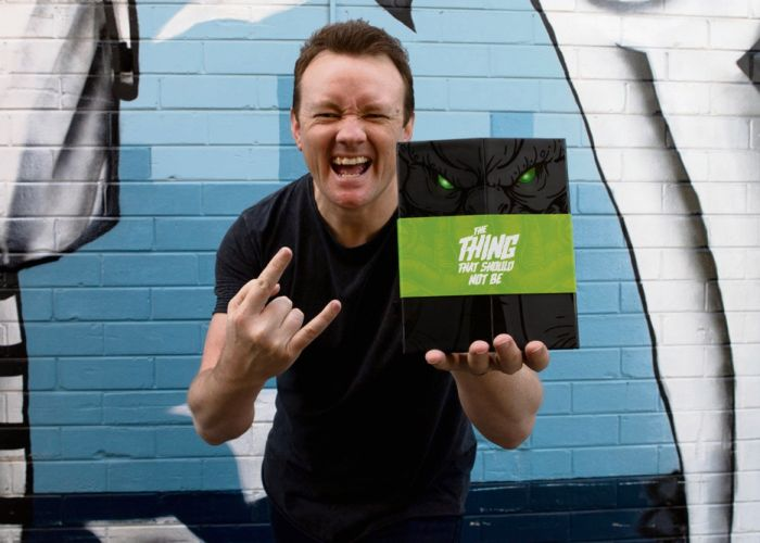 Lethal Digital Lee Rekman and his team have been working on he concept for a children's pop-up book inspired by Metallica.