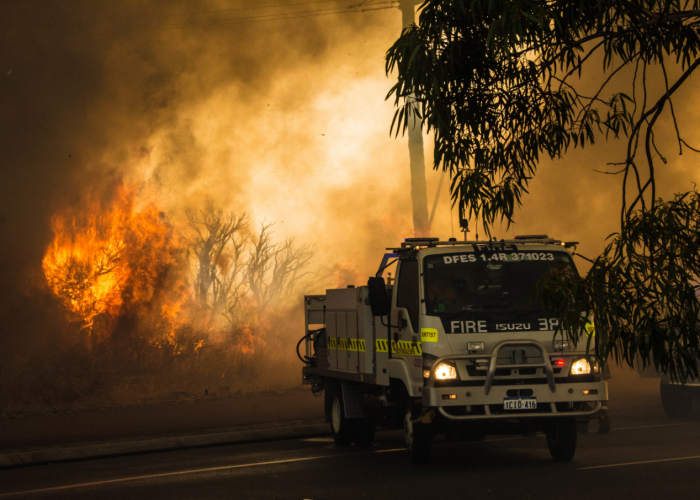 Firefighters are battling a raging bushfire in Nambeelup. Picture: Stock