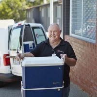 Chorus Kitchen volunteer Stephen Davies.