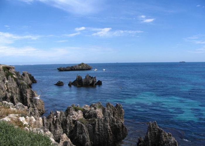 Carnac Island. Picture: WA Parks and Wildlife Service