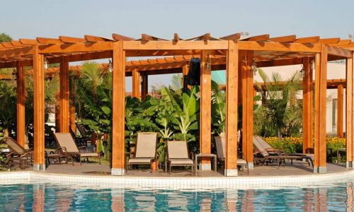 Modern Plastics and Pergolas puts the competition in the shade