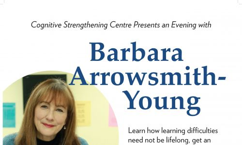 An Evening with Barbara Arrowsmith-Young