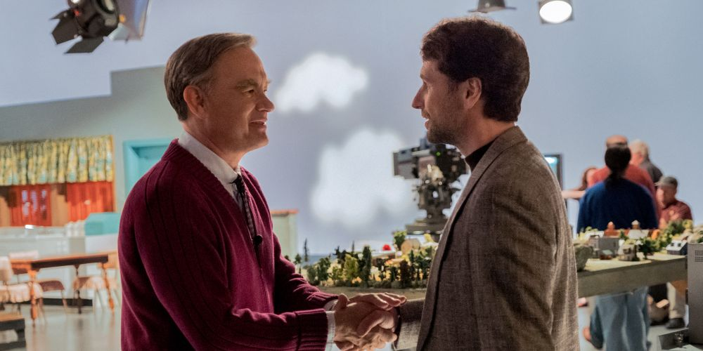 Tom Hanks and Matthew Rhys in A Beautiful Day in the Neighborhood.