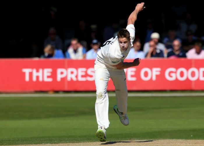 Morne Morkel in action for Surrey. Photo: Getty