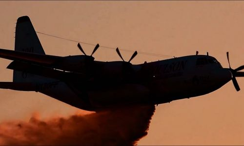 Three US firefighters killed in air tanker crash