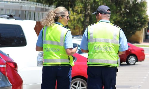 Wanneroo rangers enforce local parking laws. Picture: City of Wanneroo