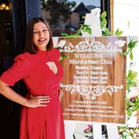 Doreen Sharma has opened her own fashion boutique Manhattan Chic and hopes to soon have her own clothing brand. Pictures: Sammi Rose