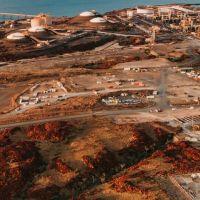 $50 billion Burrup Hub liquefied natural gas development. Picture: Woodside/Jarrad Seng