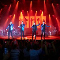 Human Nature brought the love to the City of Joondalup's Valentine's Concert. Picture: Travis Hayto