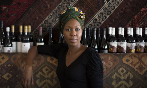 Perth Festival Literature & Ideas curator Sisonke Msimang. Picture: Nick White.