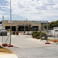 A long-awaited redevelopment of the Ocean Reef Shopping Centre has started. Picture: David Baylis
