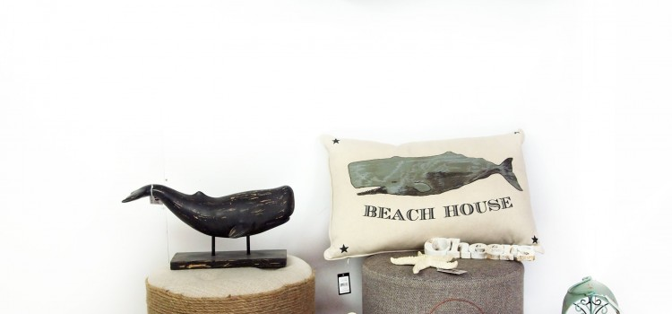 Metal Whale Wall Organiser with Mesh