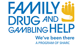 family drug and gambling help logo