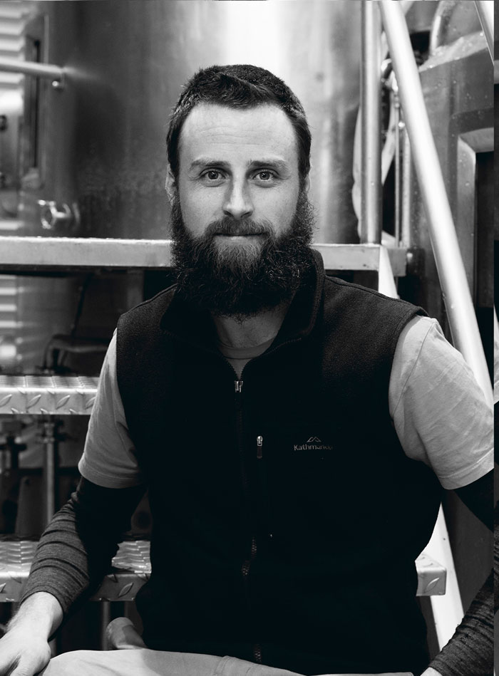 Ben Waymouth, lover of fermenting, malt and beards