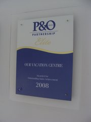 P&O Cruises Outstanding Sales Achievement 2008