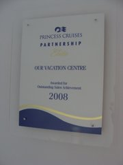 Princess Cruises Outstanding Sales Achievement 2008