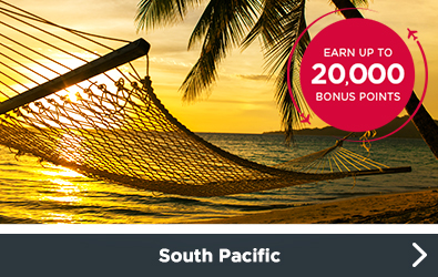 South Pacific Bonus Offers